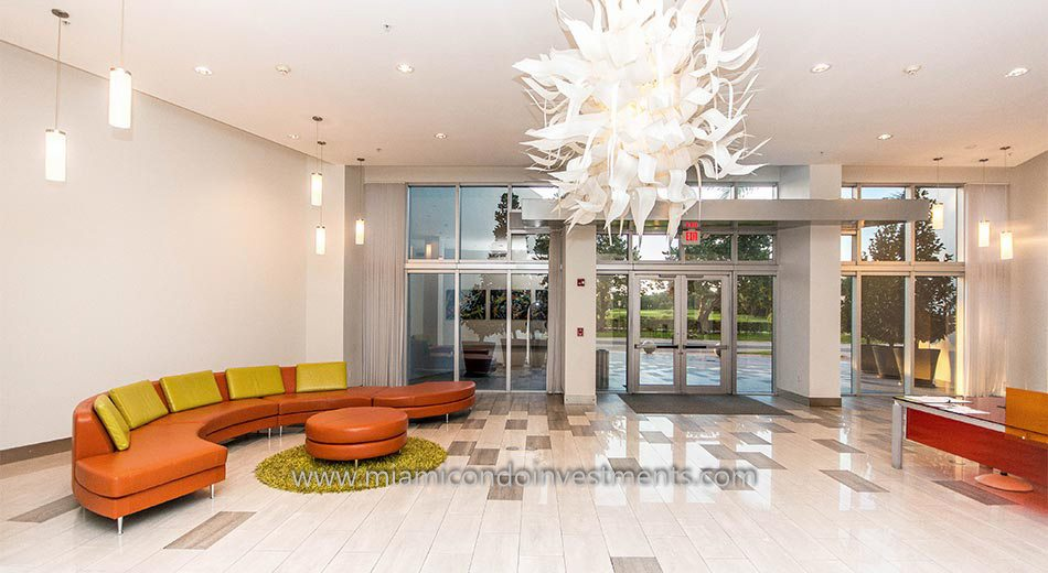 Meridian Lofts lobby south beach condos