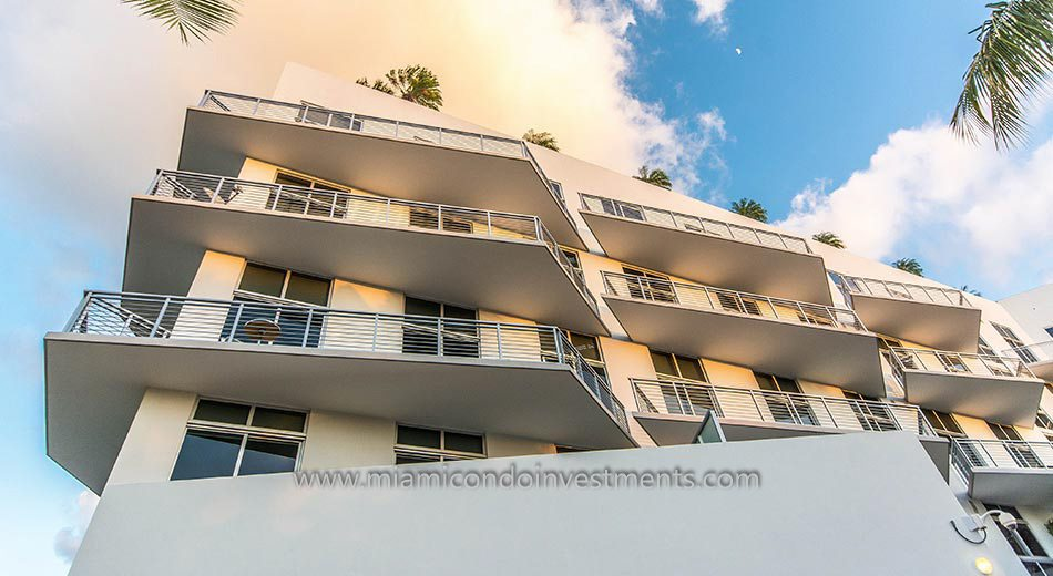 Meridian Lofts balcony
