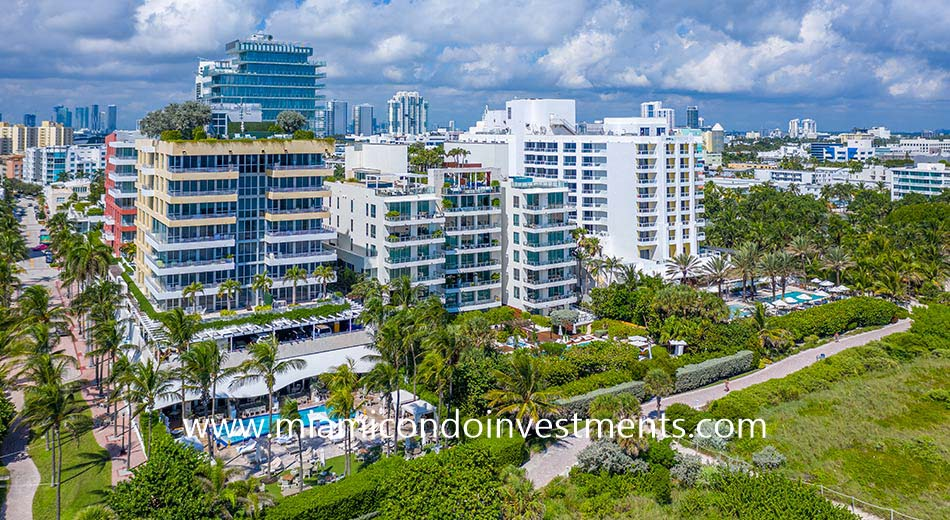 Ocean House condominium in South Beach