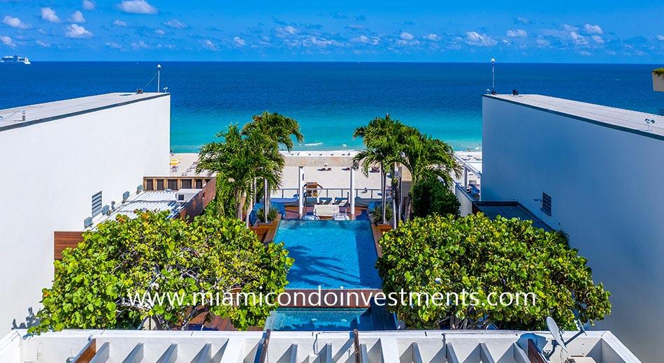 Ocean House penthouse pool