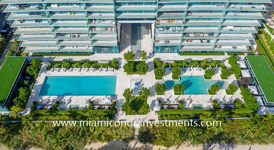 Oceana Bal Harbour swimming pools