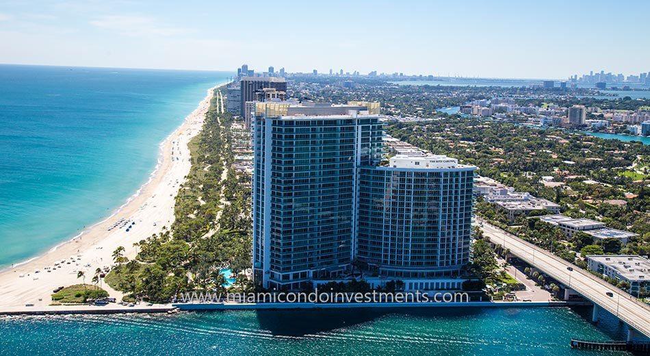 Oceanfront condos Miami