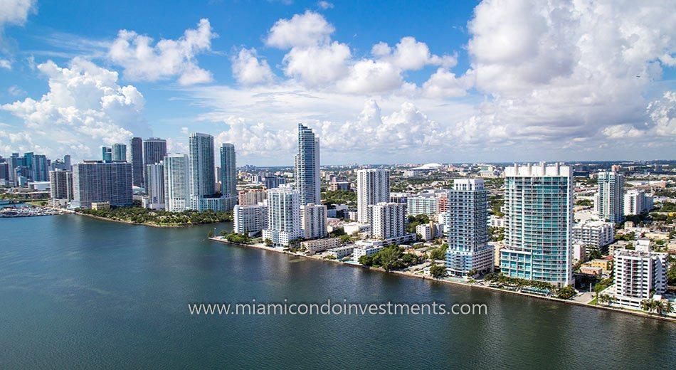 Onyx on the Bay Miami condos bayfront