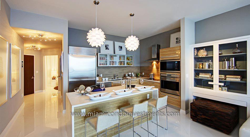 miami condos kitchen 2