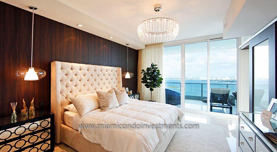 condos miami bedroom