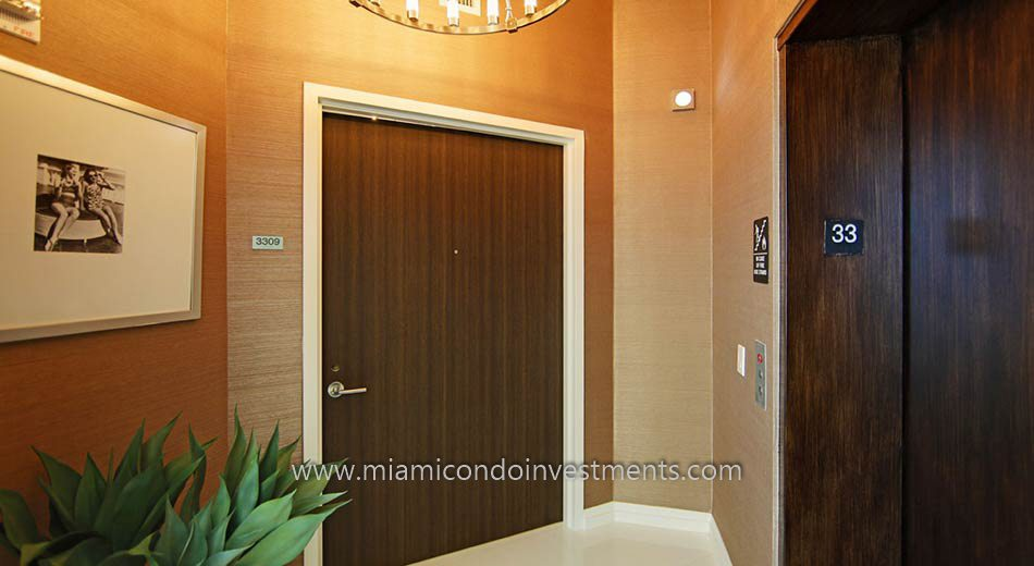 miami condos private foyer elevator