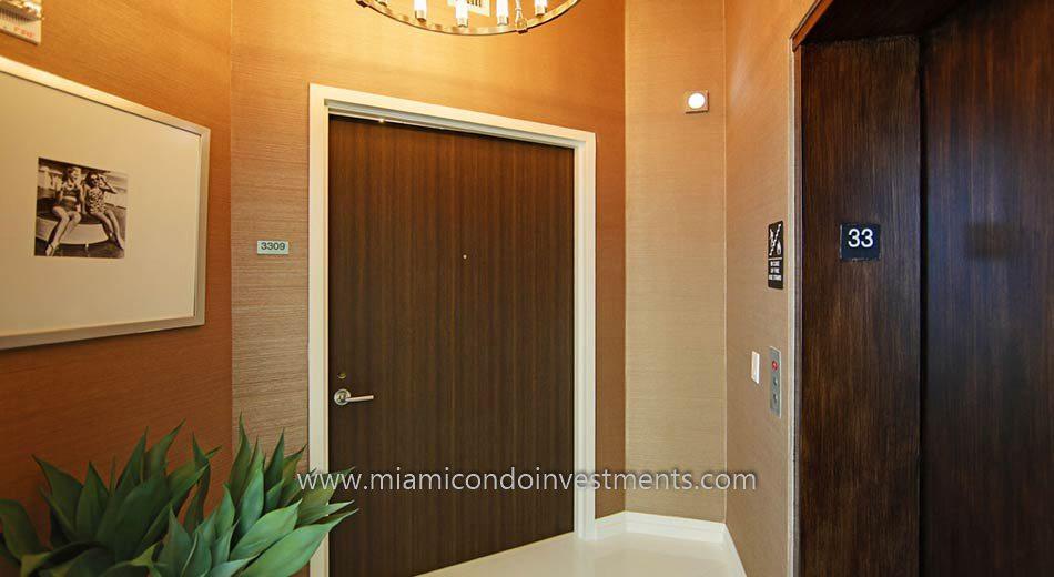miami condos private foyer elevator