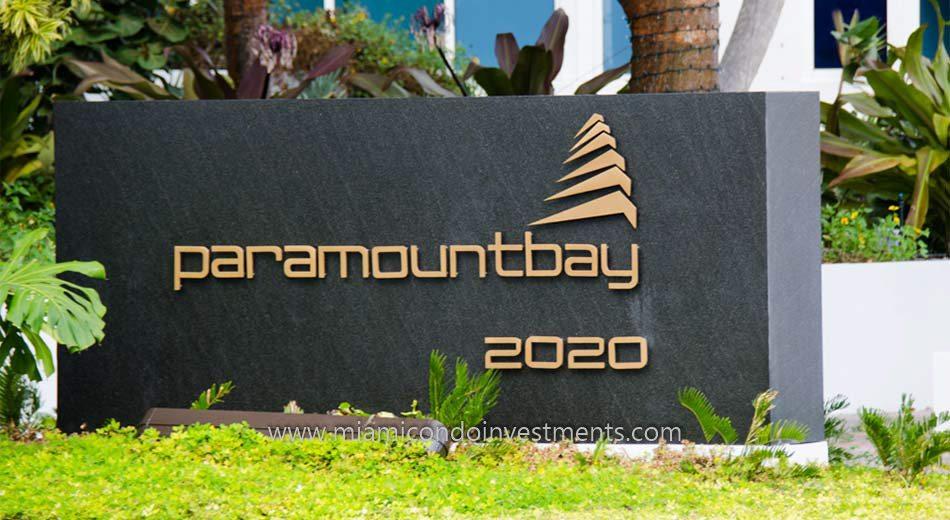 Paramount Bay miami 2020 N Bayshore dr