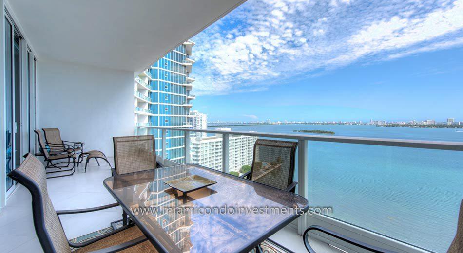 miami condos balcony view