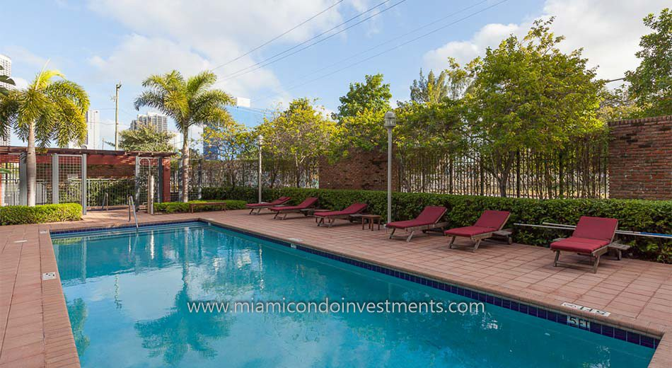 Parc Lofts Miami Pool