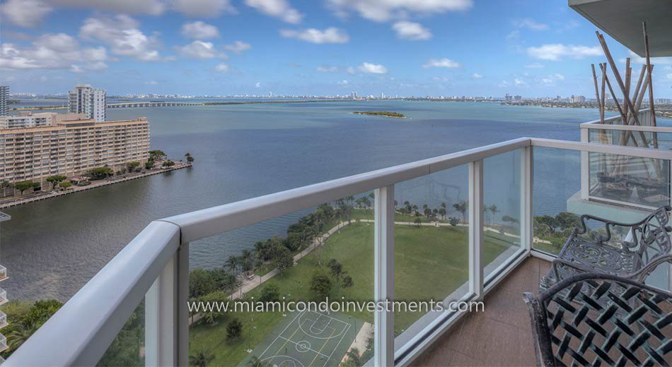 miami condos balcony views