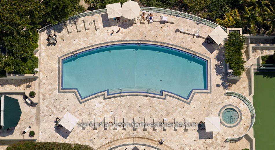 Santa Maria miami condos pool