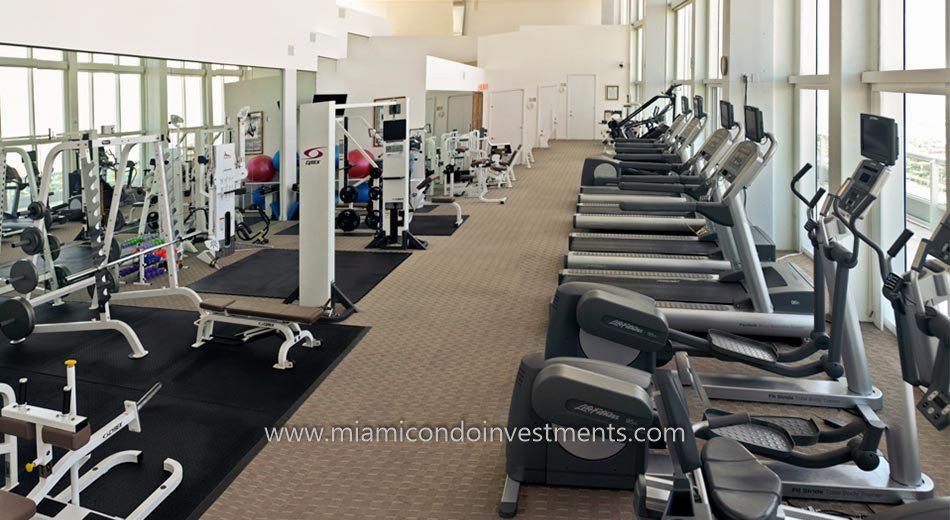 brickell condo gym