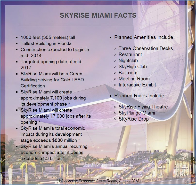 SkyRise Miami facts