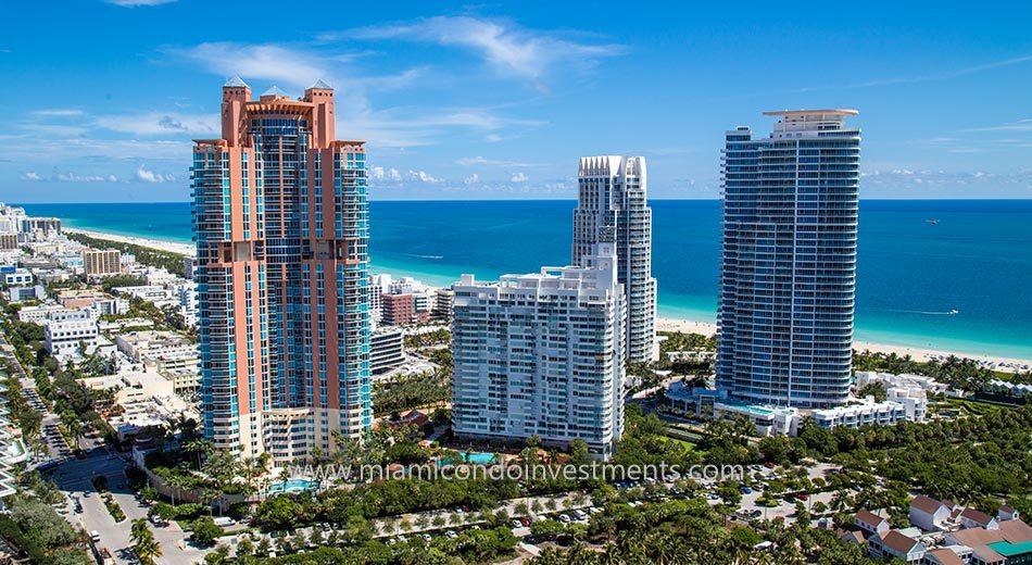 South Pointe Towers condos miami beach
