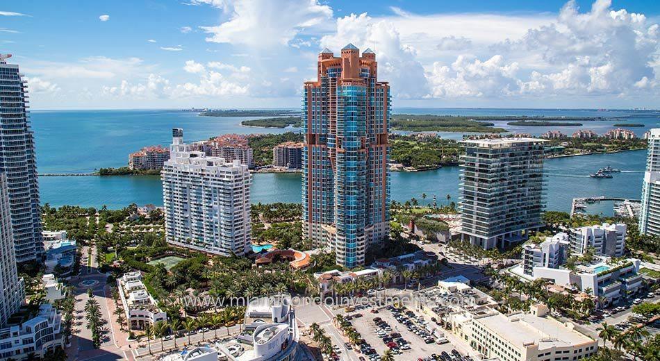 South Pointe Towers south beach condos