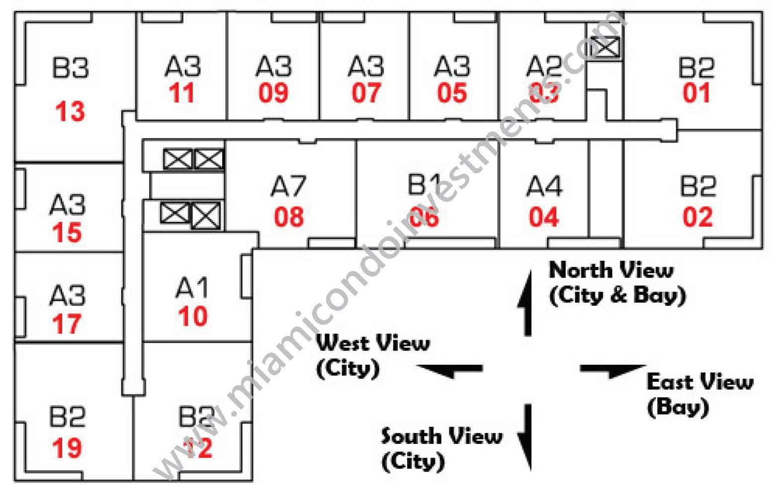 the-loft-2-condos-key-plan