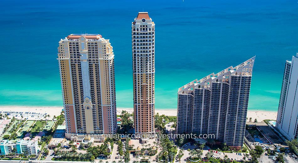 The Mansions at Acqualina waterfront condos