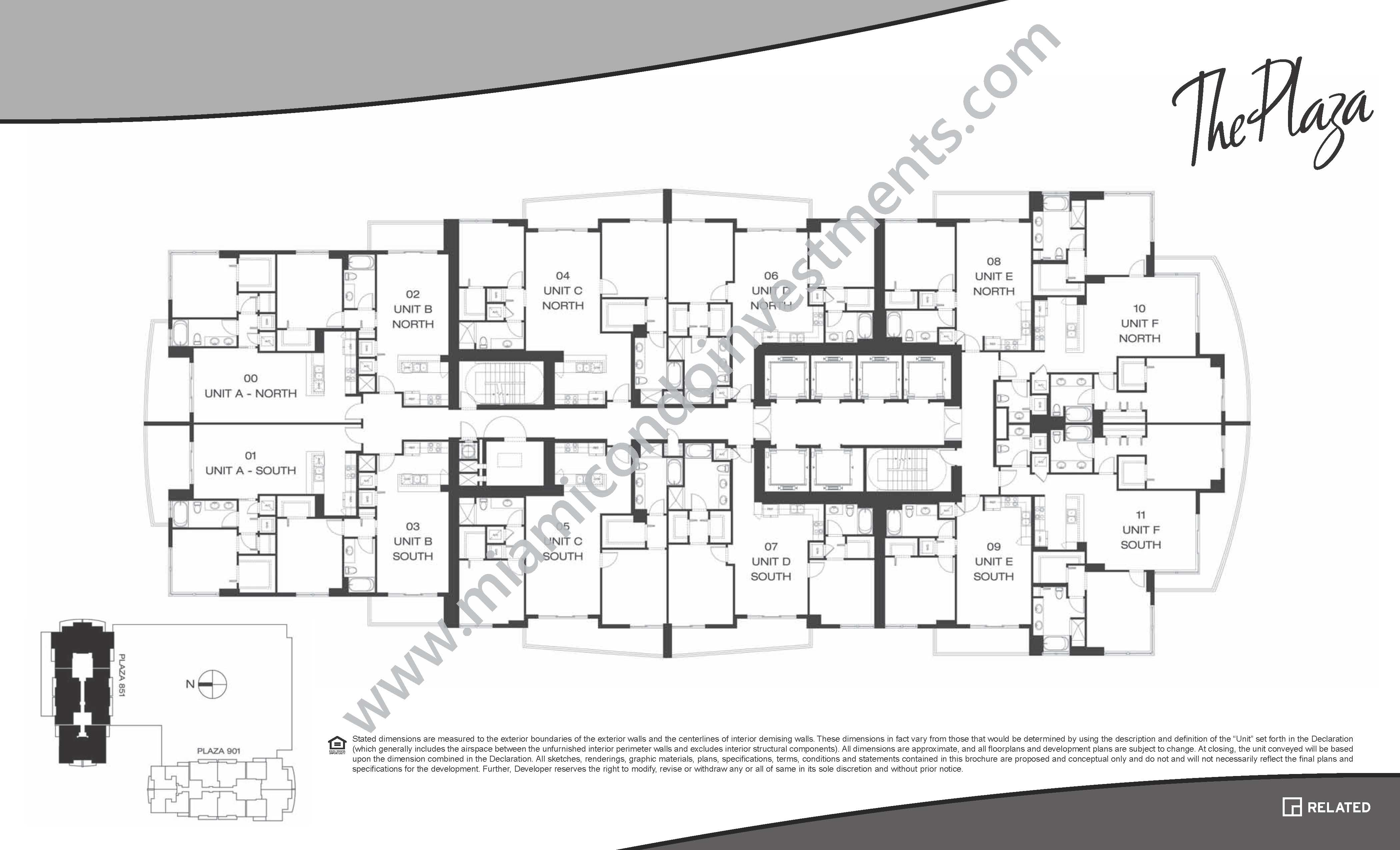 the plaza on brickell condos east tower 950 brickell bay the plaza on brickell east condos site plan