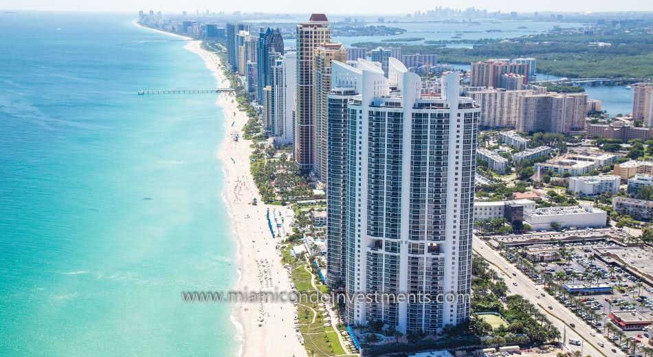 Trump Royale condos water views sunny isles beach