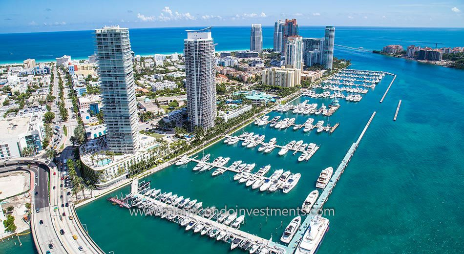 Yacht Club at Portofino condos south beach