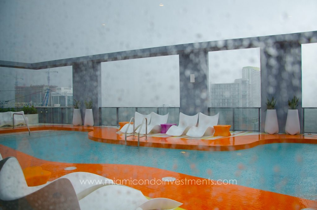 myBrickell rooftop pool