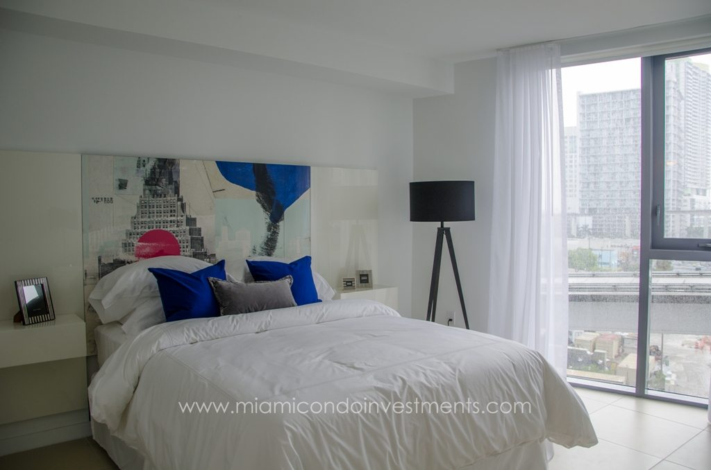 model unit at myBrickell