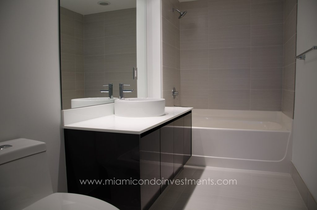myBrickell master bathroom
