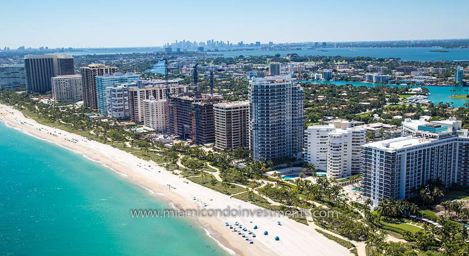 Bal Harbour condos skyline