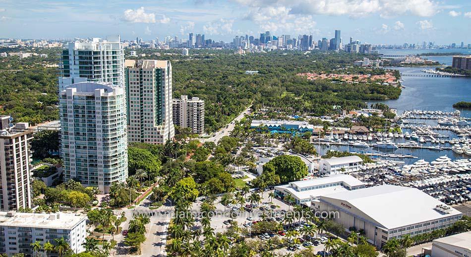 Coconut Grove condos in Miami Florida
