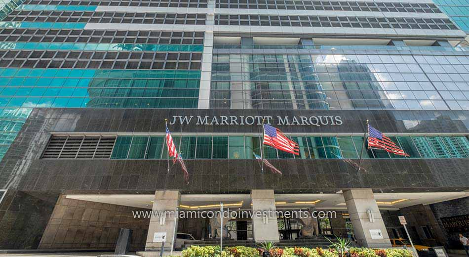 JW Marriott Marquis in Downtown Miami