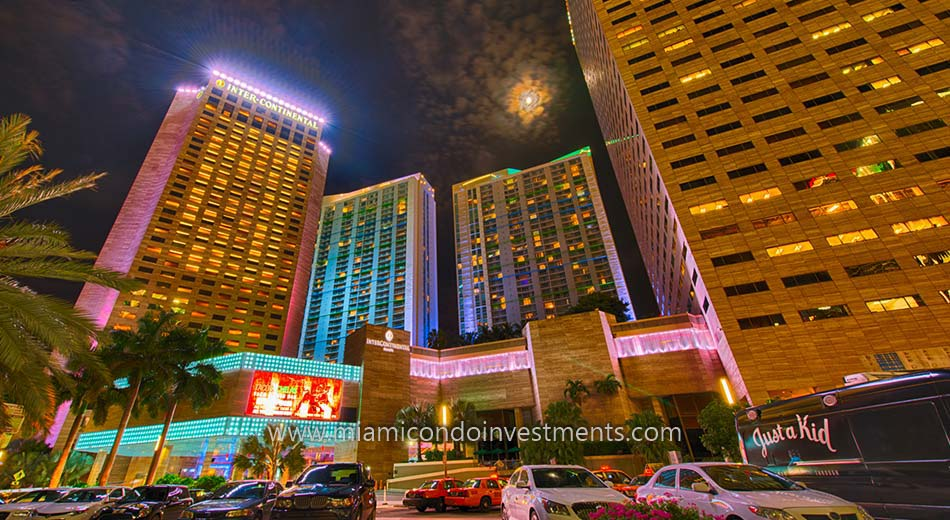 Intercontinental Hotel in Downtown Miami