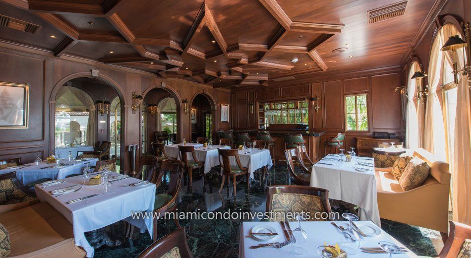 Dining Area inside the Vanderbilt Mansion on Fisher Island
