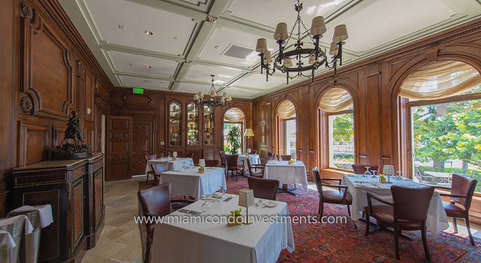 The Napoleon Room at the Vanderbilt Mansion on Fisher Island