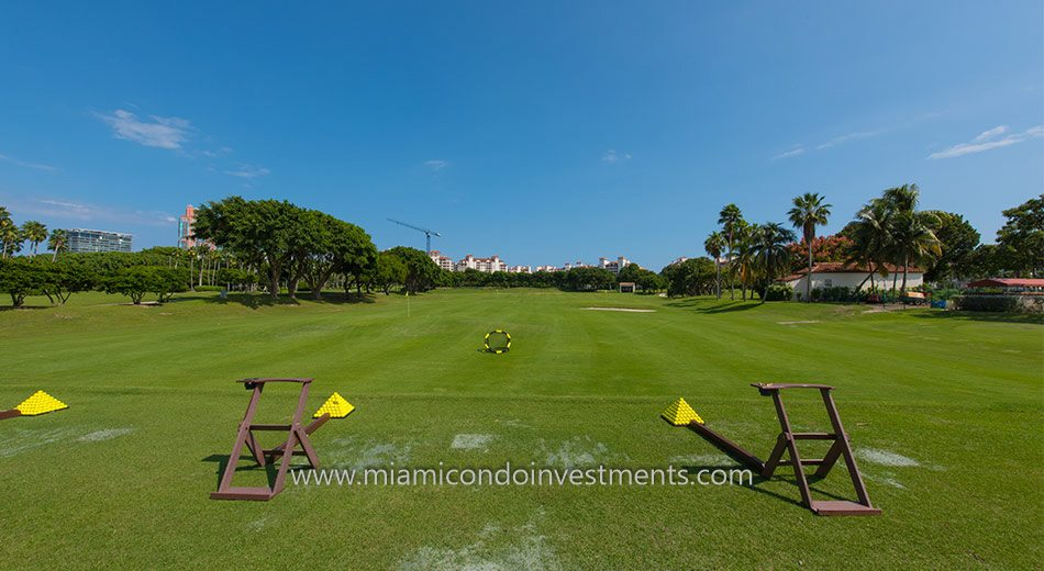 Fisher Island golf driving range