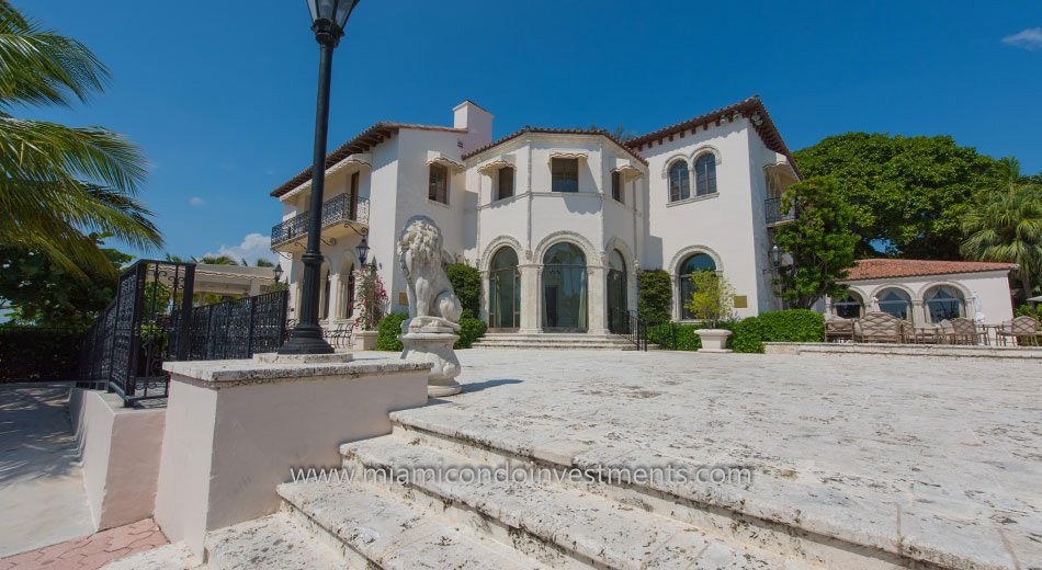 Vanderbilt Mansion on Fisher Island in Florida