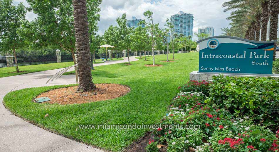 Intracoastal Park South in Sunny Isles Beach