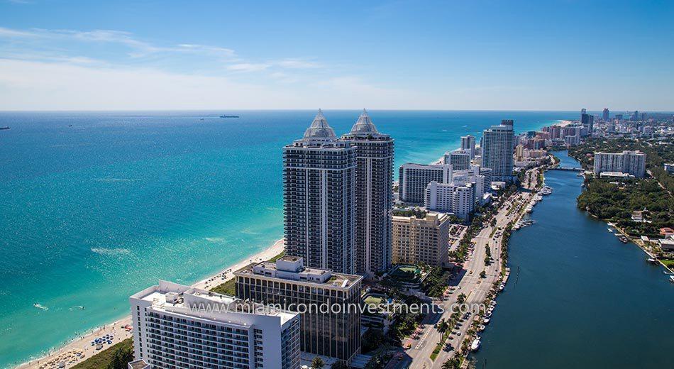 Miami Beach condos view of Atlantic Ocean