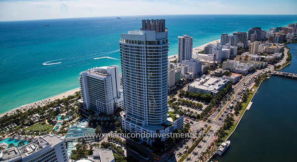 ocean views from Miami Beach condos