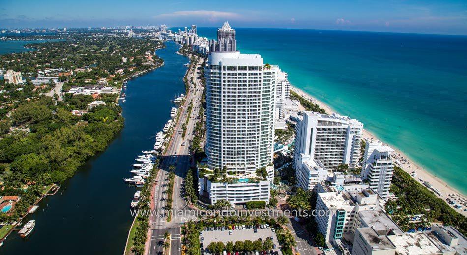Miami Beach condos view north