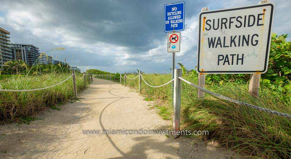 Surfside Florida beachfront condos