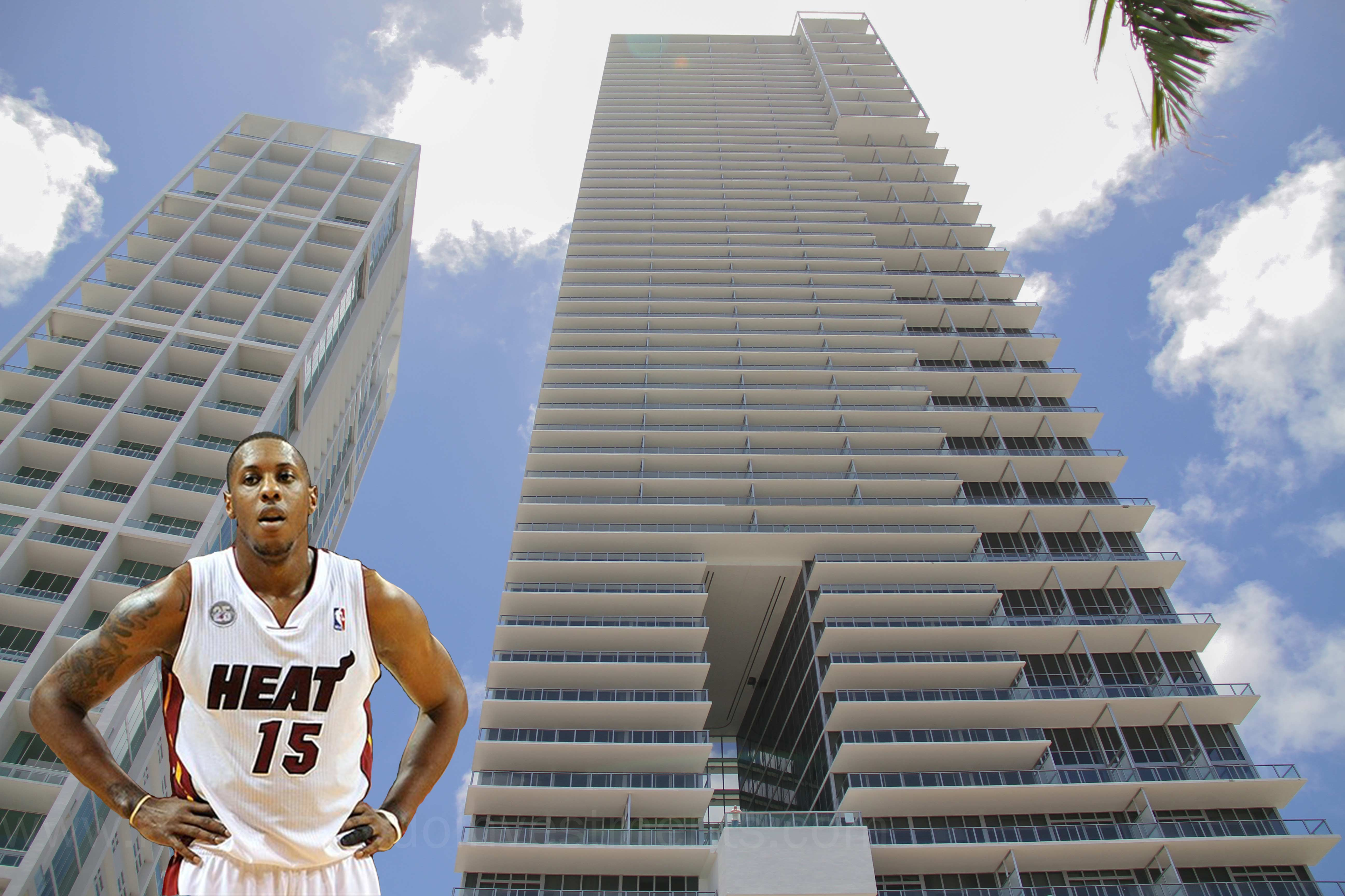 Mario Chalmers Lists 5 Bedroom condo at Marquis Residences for $4M