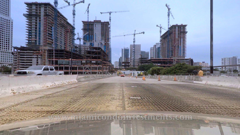 Brickell condos construction update