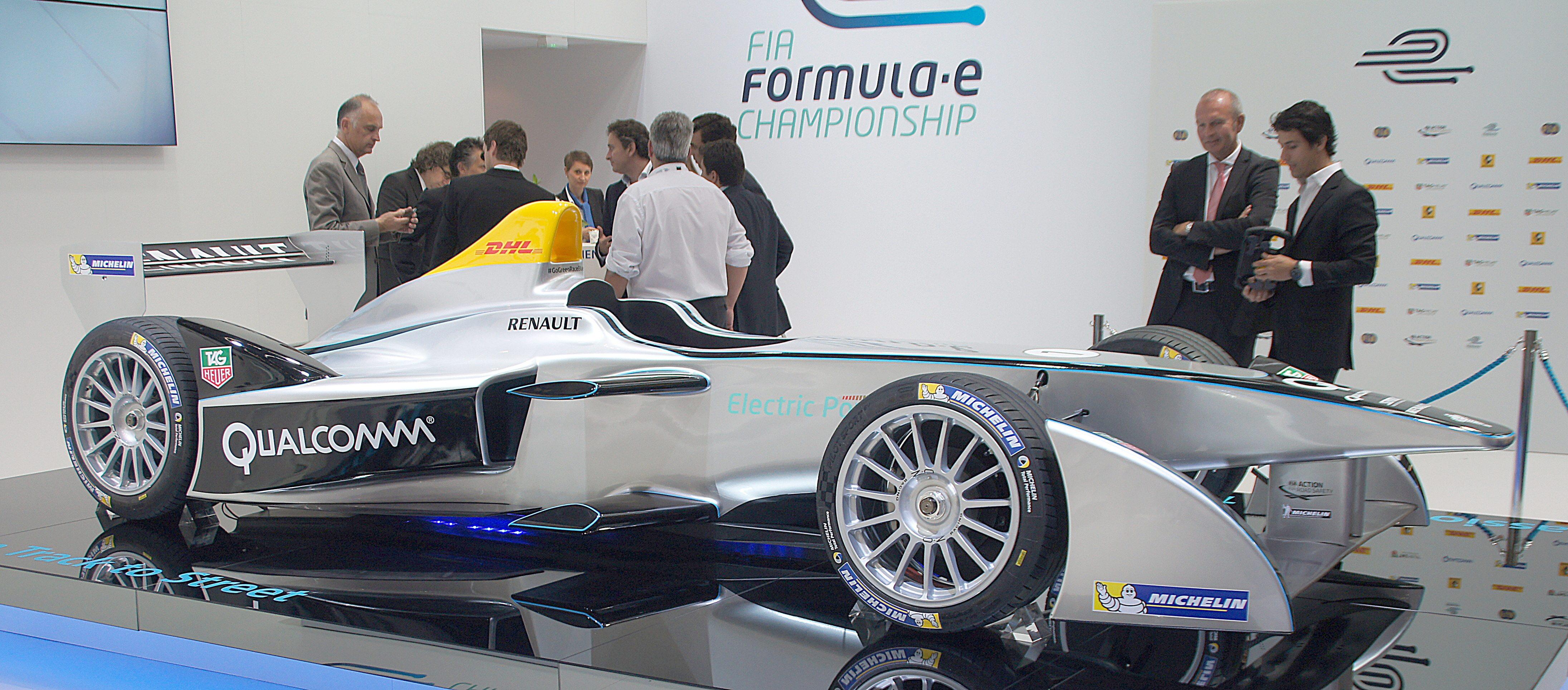 Formula e Championship race car