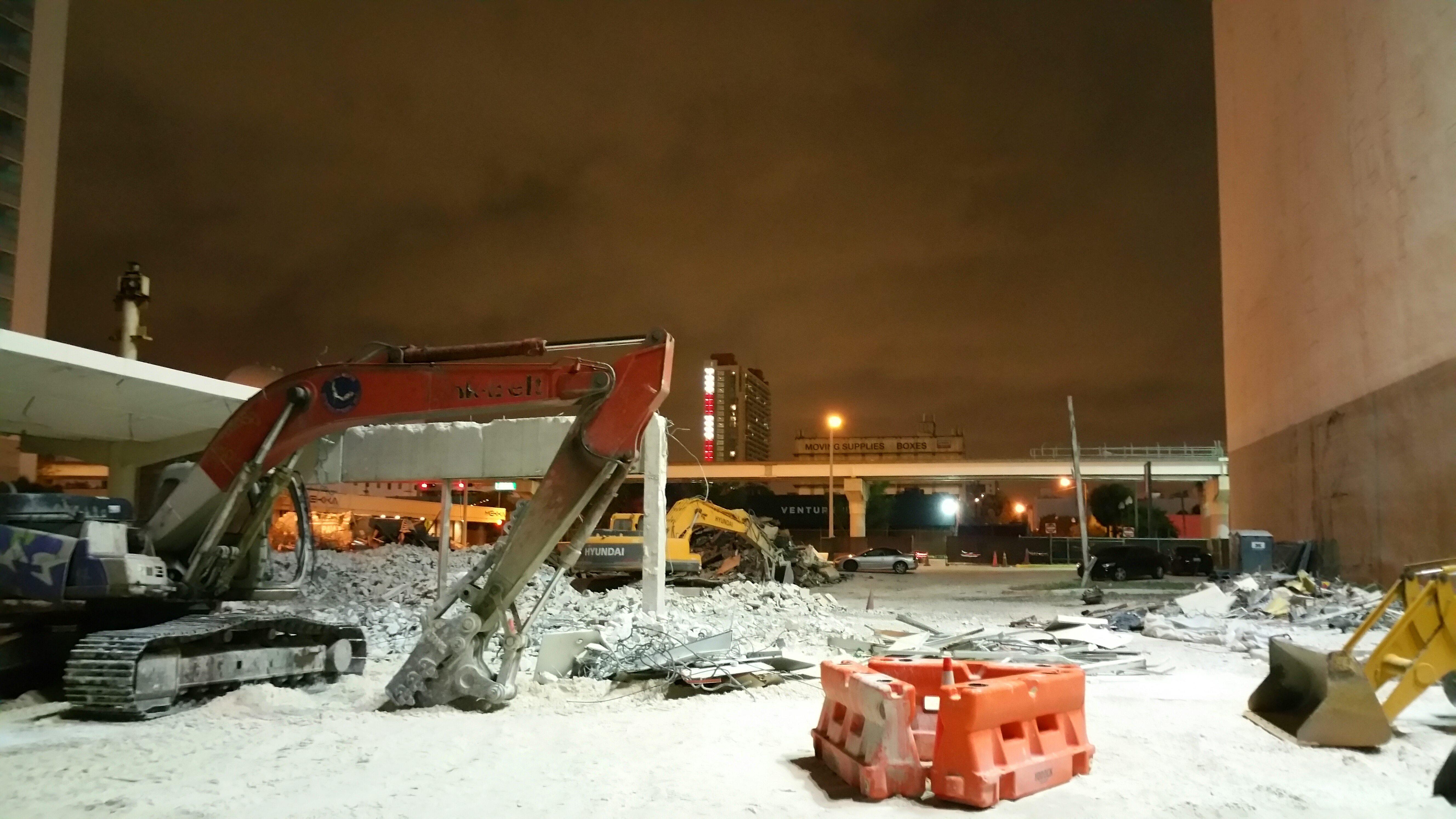 1000 Biscayne Blvd construction