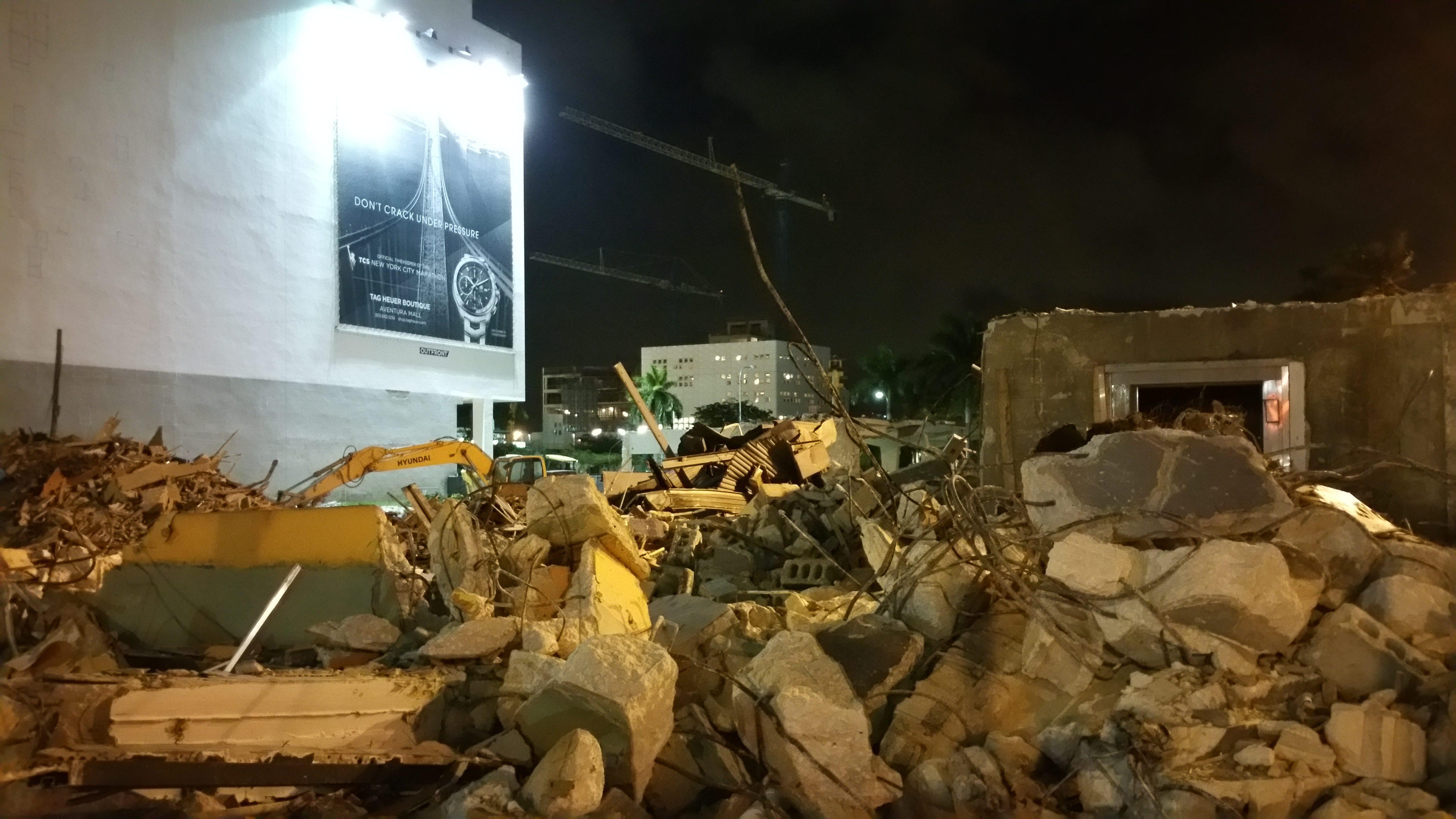 Downtown Miami Pawn Shop destroyed
