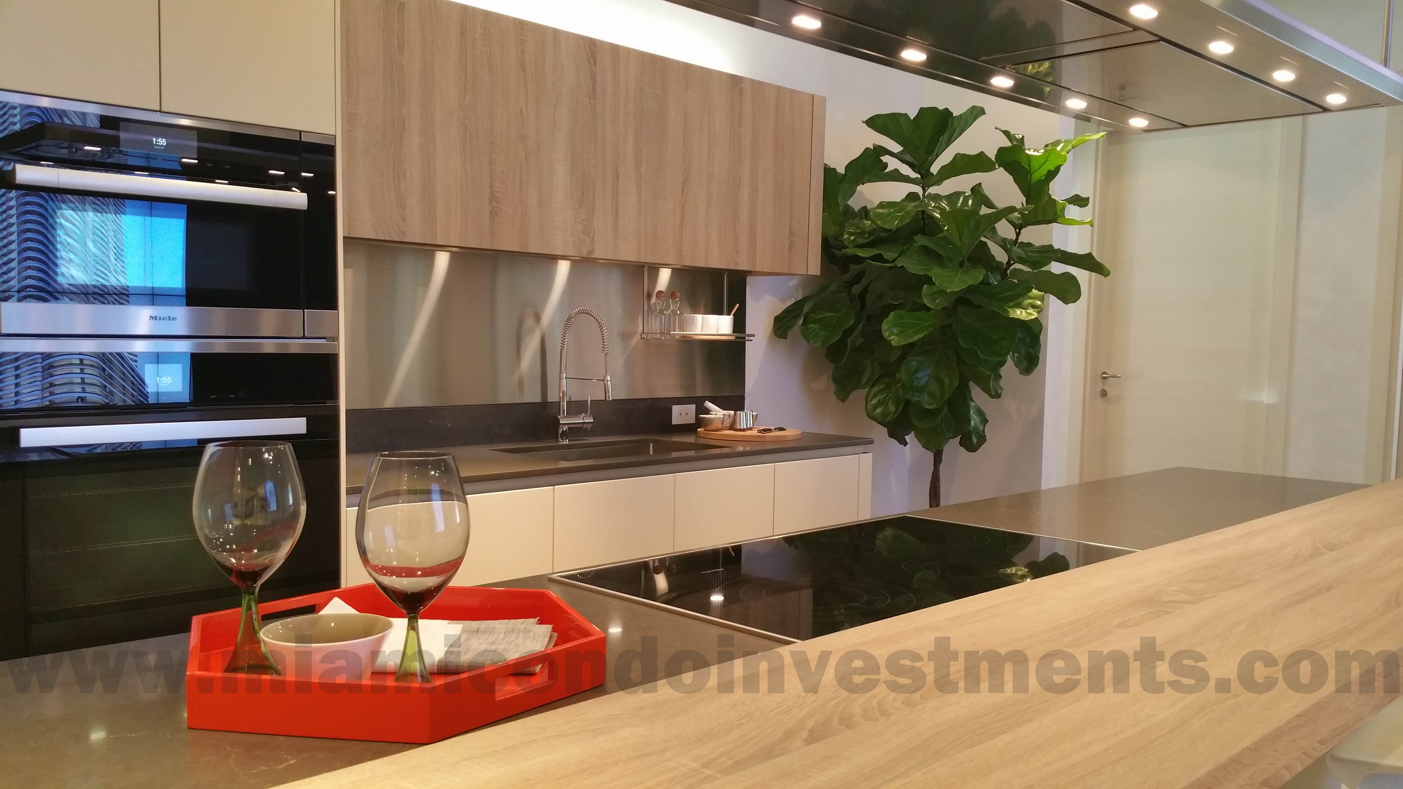 ktichen with Snaidero cabinetry
