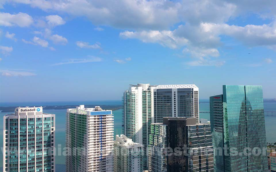 View from 43rd floor of Millecento Residences