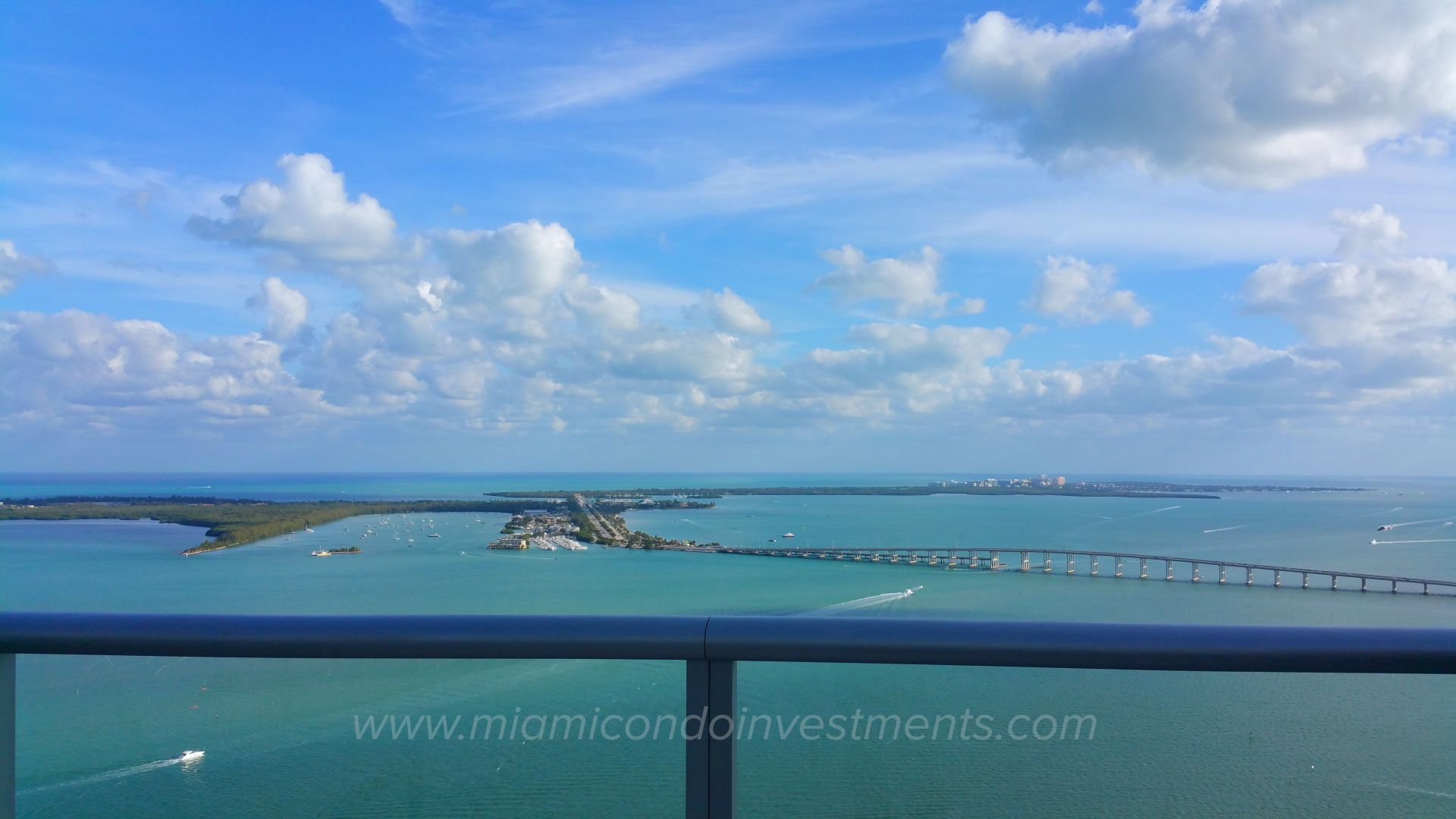 View from rooftop pool at BrickellHouse