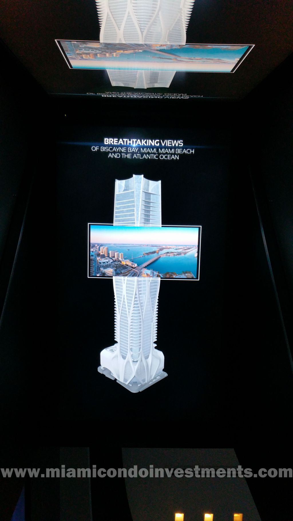 hologram box for One Thousand Museum